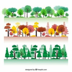 Millions of Free Graphic Resources. ✓ Vectors ✓ Stock Photos ✓ PSD ✓ Icons ✓ All that you need for your Creative Projects Forest Drawing Easy, Tree Drawing Simple, Forest Illustration, Plant Illustration, Digital Illustration, Chalk Drawings, Easy Drawings, Tree Branch Tattoo, Pine Tree Art