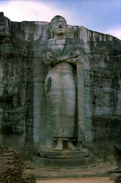 Sri Lanka for it's culture & food is very high on my list of top ten places to travel...  Gal Vihara, Sri Lanka