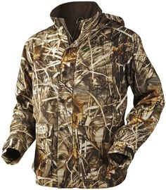 This Men's Button-up Jacket has cartridge pockets with drain holes, action back for extra freedom of movement, and a game pocket. Cigar Accessories, Duck Hunting, Freedom Of Movement, Hunting Clothes, Lightweight Jacket, Motorcycle Jacket, Button Up, Leather Jacket, Shirt Dress
