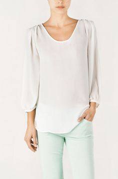 love this top: Massimo Dutti (Spain)