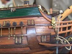 帆船模型製作 フリースランド(Friesland) 2/2 Model Ship Building, Old Sailing Ships, Wooden Ship, Model Ships, Tall Ships, Anchors, Mockup, Boat Building, Boating