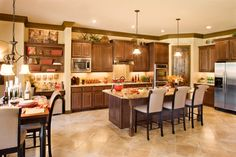 Milano Kitchen by Sitterle Homes