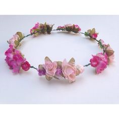 paradise pink crown ($10) ❤ liked on Polyvore