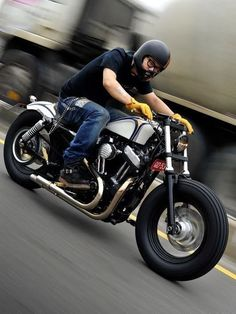Bugger! I appear to have just pinned several Harley's in a row. Apologies credibility!! www.caferacerpasion.com