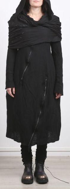 rundholz dip - Kapuzenschal Loop Cotton Jersey black spot - Winter 2017 - stilecht - mode für frauen mit format...