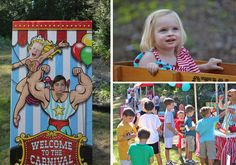 carnival kids party outfits | Amy even had a ticket redemption station so that the kids could pick ...