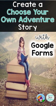 Create a Choose Your Own Adventure Story with Google Forms | Use Google Suite for literacy activities like writing a digital choose your own adventure story Create Dream Explore Media Literacy, Literacy Activities, Digital Technology, Educational Technology, Choose Your Own Adventure Books, Choose Your Own Story, Adventure Activities, Adventure Stories, Adventure Awaits