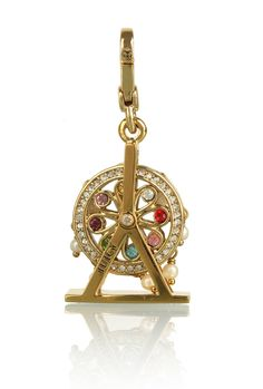 Juicy Couture Farris Wheel Charm-Getting over fear of heights