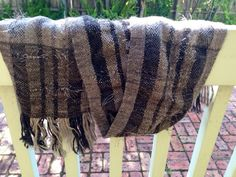 The Kiwi Scarf. Pure cosiness in alpaca, merino and silk woven for a distinguished gentleman's Christmas present ; Kiwi, Hand Weaving, Scarves, Pure Products, Blanket, Scarfs, Hand Knitting, Blankets, Cover