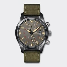 IWC Pilot's Watch.  It's a beauty...but I think I could spend $12,700 a little more wisely.  :0/