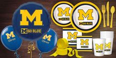 Michigan Wolverines Party Supplies