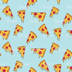 Find Pizza Slice Seamless Pattern stock images in HD and millions of other royalty-free stock photos, illustrations and vectors in the Shutterstock collection. New Pizza, Kids Prints, Art Prints, Healthy Pizza, Eat Healthy, Healthy Meals, Healthy Recipes, Fyre Festival, Useful Tips