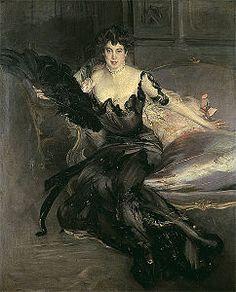 Giovanni Boldini Portrait de Mrs Lionel Phillips (1903),
