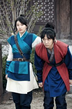 Gu Family Book(Hangul:구가의 서;RR:Guga-ui Seo; also known asKang Chi, the Beginning) is a 2013 South Korean television series starringLee Seung-giand Suzy. The fusion martial arts actionhistorical dramais about a half man-half monster who is searching for a centuries-old book that according togumiho legend, contains the secret to becoming human. The series aired onMBC. 수지 이승기