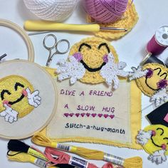 Why stitch-a-hug? A video that outlines the why behind my stitch-a-hug project and why you might like to join me.