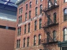 Surplus Office Furniture ghost sign, Grand Rapids, MI