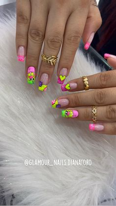 Best Acrylic Nails, Nail Manicure, Simple Nails, Hair Beauty, Nail Art, Glamour, Makeup, Beautiful, Jewelry