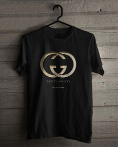 Gucci Guilty 232 Shirt For Man And Woman / Tshirt / Custom Shirt Gucci T Shirt Mens, Gucci Shirts, Gucci Men, Funny Hoodies, Tee Shirt Designs, Cute Tshirts, My T Shirt, Printed Shirts, Custom Shirts