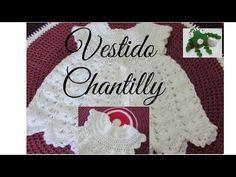 vestido de flores a crochet parte 1 de 4 - YouTube