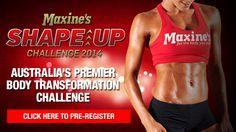 image courtesy of Maxine's Shape Up Challenge