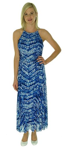 Nine West Print Mesh Maxi Dress >>> Special  product just for you. See it now! : Dresses Sale
