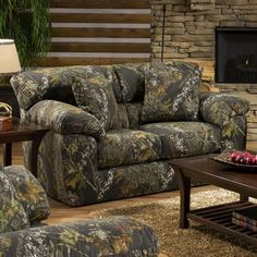 Camo Living Rooms on Pinterest