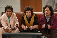 Howard, Leonard, and Raj first meet.