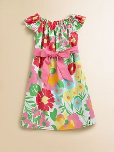 Lilly Pulitzer Kids Girl's Little Sully Shift Dress