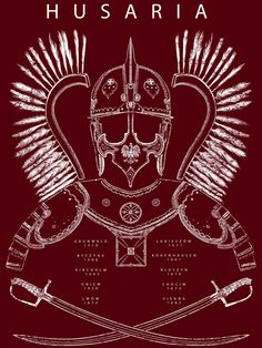 Completed a Polish Hussar t-shirt design today! Available on Redbubble: www.redbubble.com/people/lobst…