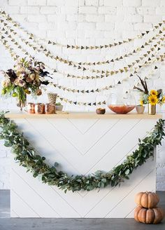 Here's a gorgeous, modern baby shower sure to inspire rustic and warm showers!