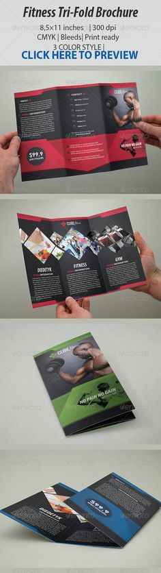 Fitness Brochure Tri-Fold