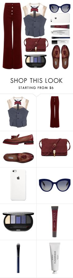 """""""Toga Waistcoat"""" by juliehalloran ❤ liked on Polyvore featuring Toga, Vanessa Bruno, Fratelli Rossetti, Elizabeth and James, Dolce&Gabbana, Sephora Collection, Lane Bryant, Clé de Peau Beauté and Byredo"""