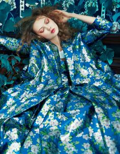 Lindsey Wixson in Delpozo photographed by Erik Madigan Heck for Harper's Bazaar UK, May 2017.