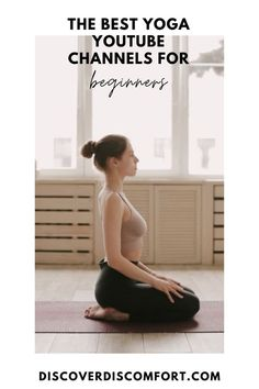 A quick look at the best channels for yoga on YouTube for beginners — after having done a whole bunch of videos. | best yoga youtube channels | yoga beginners learning | yoga beginners video | workouts at home | at home yoga workout | yoga workouts | how to start yoga | at home yoga for beginners | learn yoga at home #yoga #discoverdiscomfort Learn Yoga, How To Start Yoga, Yoga Workouts, At Home Workouts, Exercises, 10 Minute Morning Yoga, Yoga Videos For Beginners, Stretches For Runners, Yoga Youtube
