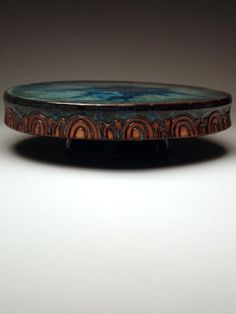 cake stand at mudfire gallery.