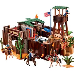 "Playmobil Western Fort - Playmobil - Toys ""R"" Us"