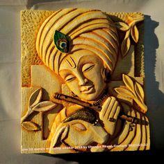 Clay Wall Art, Mural Wall Art, Marble Painting, Marble Art, Gautam Budh, Parrot Painting, Kalamkari Painting, Clay Art Projects, Indian Paintings