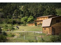 Beautiful log nestled in the valley of lush meadows, big cottonwood trees, tall pines, streams and springs. Well maintained and loved. Barn with hay storage. Alpacas can be purchased. Convenient location. Property zoned PD (Planned Development) Vacation Rental/Bed and Breakfast legal. 18+ acres with adorable cottage contiguous to house can be purchased separately to create your own Colorado ...