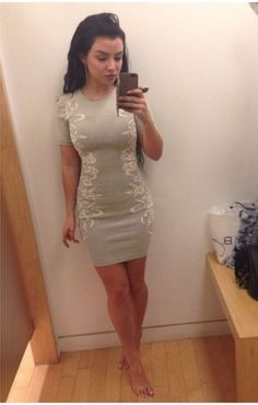 Skin tight dresses never looked so good - 28 Photos