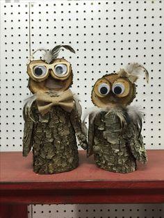 Mr & Mrs Owl Set