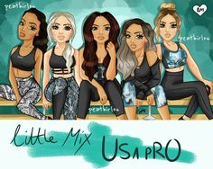 Little Mix, Jesy Nelson, Perrie Edwards, Bff Drawings, Bratz Doll, Marker Art, Stage Outfits, Girl Group, Fan Art