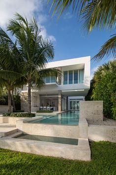 Biscayne Bay Residence - modern - exterior - miami - Max Strang Architecture