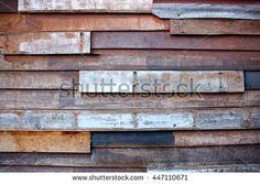 vintage wood wall background