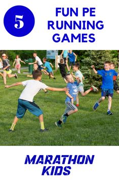 These 5 PE running games are fun for students of all ages and will help you keep things fresh for your gym class! Fitness Games For Kids, Gym Games For Kids, Kids Gym, Exercise For Kids, Kids Fitness, Class Games, Pe Games, Pe Class, Running Club
