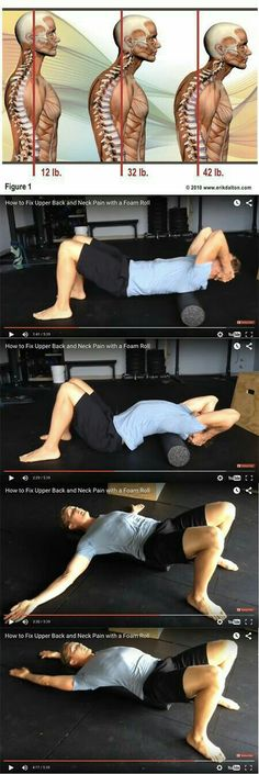 Upper back pain how to...