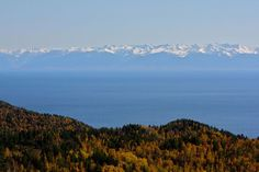 Lake Baikal's forests and mountains