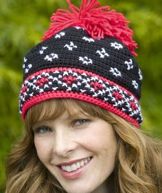 Crocheted Scandinavian Hat: free pattern