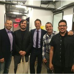 on Seth Meyers (I was there!) 10/7/14