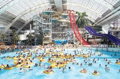 World Waterpark at the West Edmonton Mall - The World's Largest Indoor Pool
