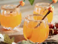 Pumpkin Sangria Recipe...talk about dangerous... :D